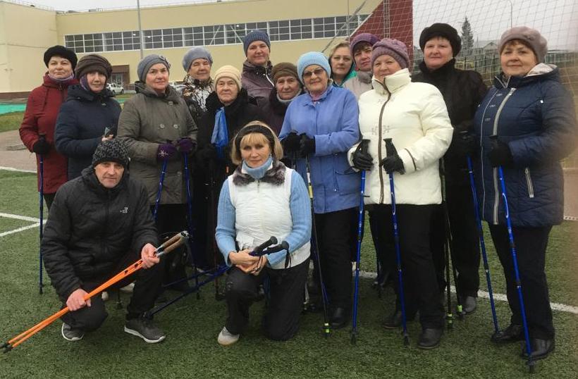 скандинавская ходьба для пенсионеров