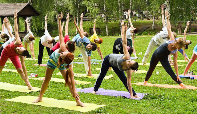 Утренняя гимнастика, комплекс упражнений утренней зарядки
