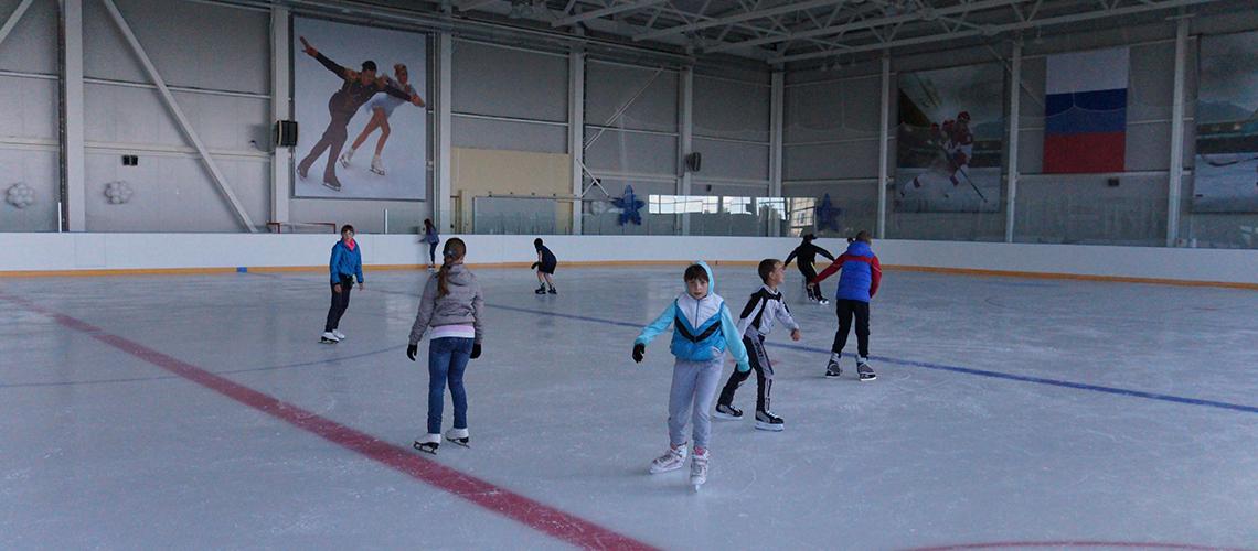 Зима – время спорта!