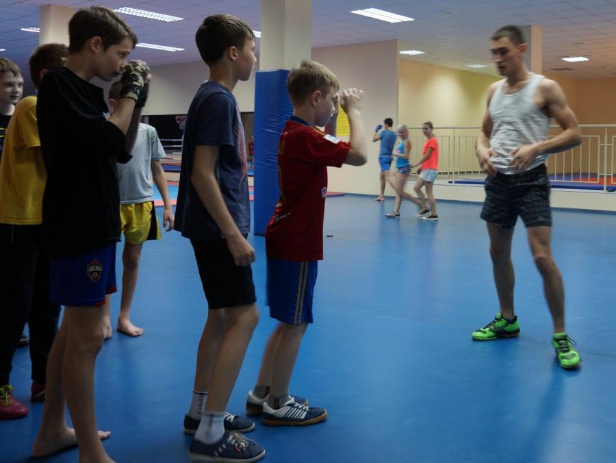 тренировка боксеров