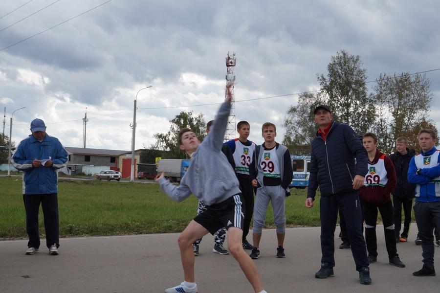 сдача норматива ГТО школьниками Арзамасского района
