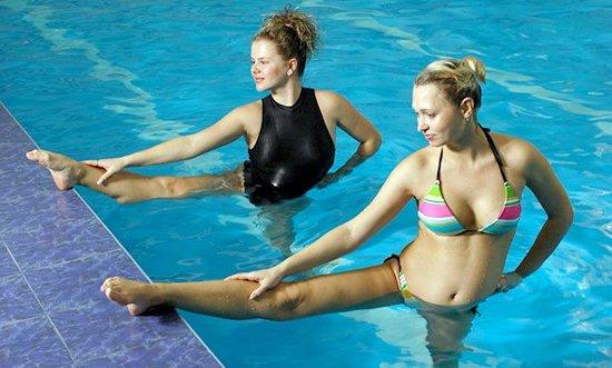 Танцы в воде доступны для всех