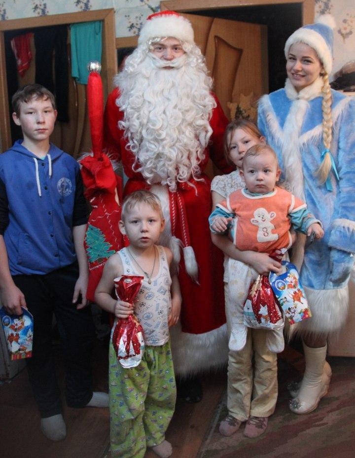 подарки детям арзамасского района