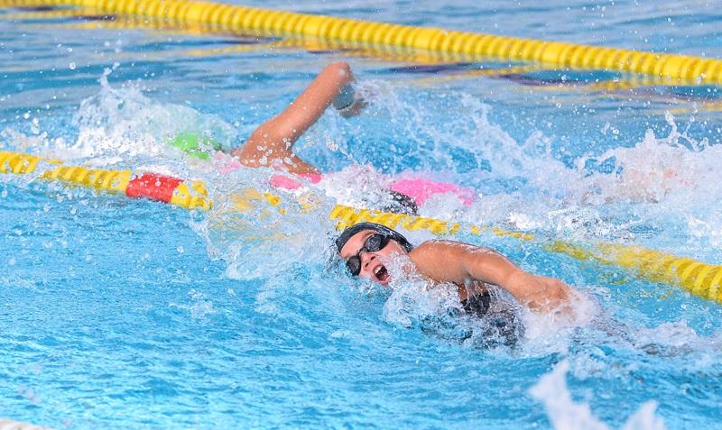 Победа в плавании за воспитанниками Фока